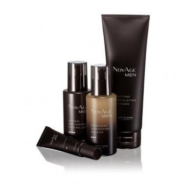 Комплексный уход для мужской кожи NovAge Men
