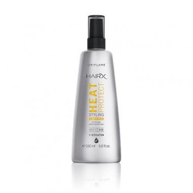 Несмываемый спрей-термозащита для укладки волос HairX