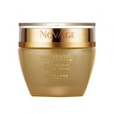 Омолаживающий ночной крем NovAge Time Restore